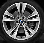 "BMW OEM  X3 and  X4  19""x8.5"" LA Wheel M Dbl. Spke St. 369 Wheels Set of 4"