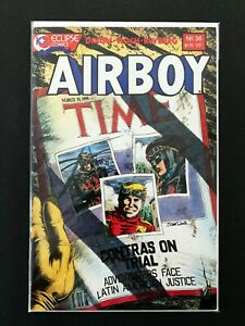 AIRBOY #36 ECLIPSE COMICS 1987 NM+ (1986 SERIES)