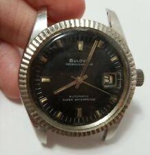 Bulova Men's Date Watch Automatic Shock Proof Oceanographer