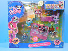 Littlest Pet Shop 6 Pets from the LPS Friends Video Game # 817 Great Dane New!
