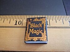 BLACK MAGIC BOOK -- DOLL HOUSE MINIATURE