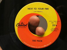 Original Flint Michigan 60's Garage Band 45 The Pack Pre-Grand Funk Hendrix Song