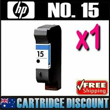 1x Black Ink for HP 15 C6615A Officejet PSC720 PSC750 PSC750xi PSC920