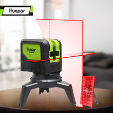 Cross Line Laser Level With 2 Dots point Self leveling Red Beams levelsure