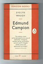 EDMUND CAMPION by Evelyn Waugh (Penguin Paperback, 1953) 1st 955