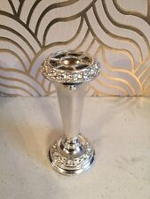 Pretty Silver Plated Bud Vase