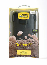 OtterBox Defender Rugged Hard Case w/Holster Belt Clip for HTC ONE M9 (Black)