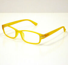OCCHIALI GRADUATI DA LETTURA PRESBIOPIA GUMMY GIALLO +3,50 READING GLASSES