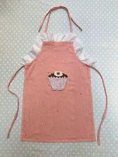 Win Green Kids Apron - Pink Cupcake (Gingerbread House range)