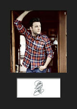 SHANE FILAN Signed Photo Print A5 Mounted Photo Print - FREE DELIVERY