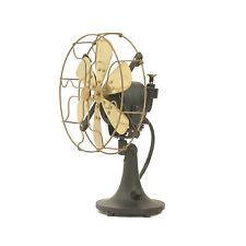 "8"" Blade Electric Desk Fan Oscillating Orbit Work 3 Speed Vintage Antique style"