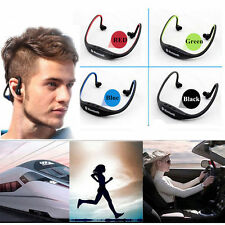 Bluetooth Wireless Headset Headphone Sport Earphone Handfree For iPhoneX Samsung