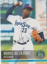 2017 Everett AquaSox Adonis De La Cruz RC Rookie Seattle Mariners
