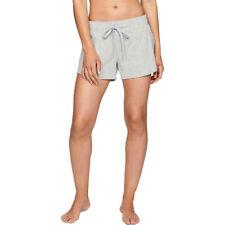 Under Armour Mujer Recovery Elite Pantalones Cortos Gris Deporte