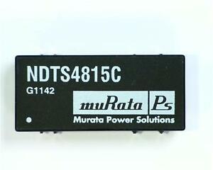 2 x Murata NDTS4815C 3W 1KV Isolated DC-DC Converter Vin 36-72V Vout 15V@0.2A