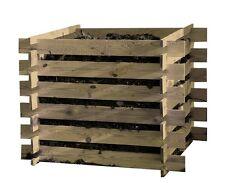 COMPOSTEURS bois Bacs à compost 100x100x70 récipient de