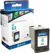 DataProducts HP 63 Ink Bk Remanufactured Ink Cartridges