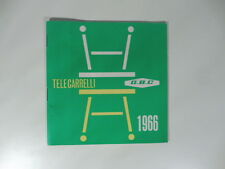 Telecarrelli GBC 1966. Catalogo