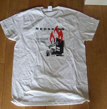 """LES PEAUX-ROUGES """"Le pouvoir est la vôtre"""" Blanc T-shirt en coton. Taille M. NEUF. RARE."""