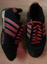Tennis baskets ADIDAS GOOD YEAR taille 36 UK 3.5 rouge noir TBE