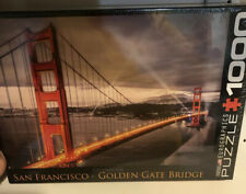 EuroGraphics San Francisco Golden Gate Bridge Puzzle 1000-Piece New Sealed