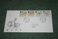 Royal Mail First Day Cover 'Maps' 1991. Southampton Pictorial Cancellation
