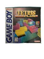 Tetris Plus Nintendo Game Boy ORIGINAL BOX MANUALS POSTER ONLY NO GAME CARTRIDGE