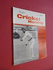 PLAYFAIR CRICKET MONTHLY. JUNE 1967. ILLUSTRATED MAGAZINE.
