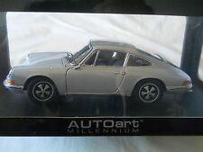 AUTOart 1967 Porsche 911 S Silver 1:18 Diecast