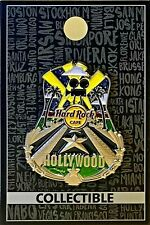 Hard Rock Cafe Hollywood Blvd Pin 3D Core City Icon Series 2017 New # 94755