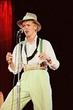 "8""*12"" concert photo of David Bowie playing at Feyenoord Stadium, Rotterdam 1983"