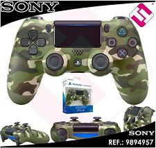 MANDO PS4 DUALSHOCK CAMUFLAJE VERDE ORIGINAL PLAYSTATION 4 SONY GREEN WIRELESS
