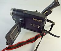 "JVC COMPACT VHS CAMCORDER GR-AXM210U 50x ZOOM 2.5"" SCREEN - AS IS PARTS / REPAIR"