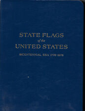 1976 50 state flags first day cover. covers in a binder.  Free shipping.