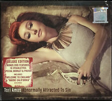 TORI AMOS Abnormally Attracted to Sin MALAYSIA DELUXE DIGIPAK CD+DVD FREE SHIP