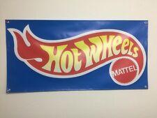 Hot Wheels Banner 2X4 Ft COL  Mattel Toys Garage Wall Decor Die-Cast Collectible