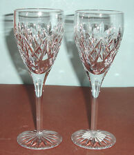 Waterford TIERNEY White Wine SET/2 Crystal Glasses Made in Ireland 159685 NEW
