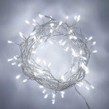 10 sets of 50 White fairy light battery power wedding table centre 5 metre long