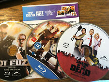 Cornetto Trilogy blu-ray + 4K digital Hot Fuzz Shaun of the Dead World's End