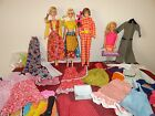 VINTAGE BARBIE MOD LOT 2 TALKING BARBIES 1 PJ BEST BUY CLOTHES SHOES