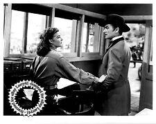 Errol Flynn Ann Sheridan still SILVER RIVER (1948) SUPER SHARP DETAILS excellent