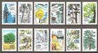 1 EUR la série complète de timbres oblitérés adhésifs de France
