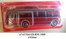 Bus no 62 fiat 626 rnl 1948 1/43 th
