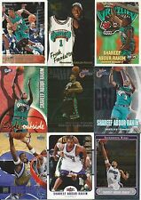 1996-1997 Topps Shareef Abdur-Rahim RC Vancouver Grizzlies Sacramento Kings Lot