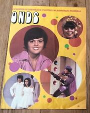 The OSMONDS youthful Donny & Marie  magazine PHOTO / Pin Up /Poster 11x8 inches