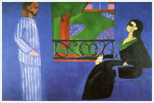 Artist Henri Matisse Poster Print of Painting The Conversation