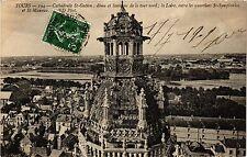 CPA  Tours - Cathádrale St-Gatien dome et lanterne de la tour nord ....(298523)