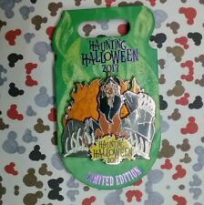 Scar Haunting Halloween Pin 2017 Disney Villain The Lion King LE 4500