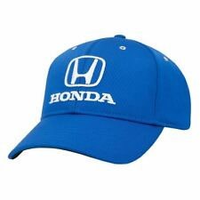 Honda Logo Embroidered Baseball Hat Ball Cap Blue JDM Official Licensed