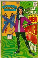Vintage WONDER WOMAN #178 FN Silver Age DC Comic 1968 1st New Wonder Woman
